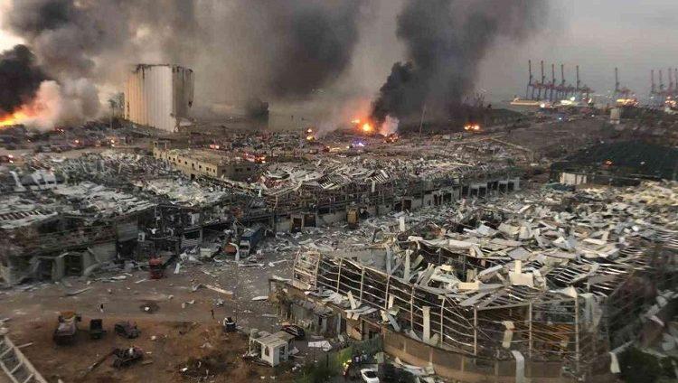 2 مليار تكلفة الإعمار إثر انفجار بيروت