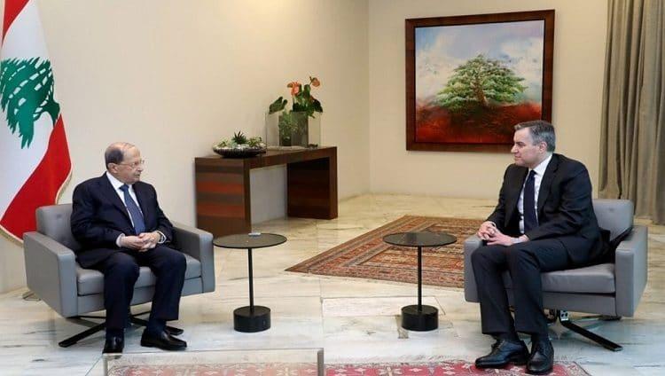 الرئيس اللبناني يقبل اعتذار أديب عن تشكيل الحكومة الجديدة