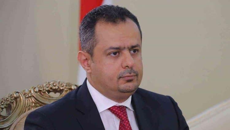 أول تعليق لرئيس الحكومة اليمنية بعد تفجير مطار عدن