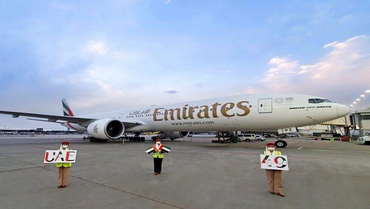 طيران الإمارات تحتفل باليوم الوطني في القارات الست