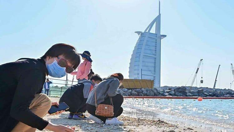 دبي تستقبل 1.1 مليون زائر دولي خلال 5 أشهر