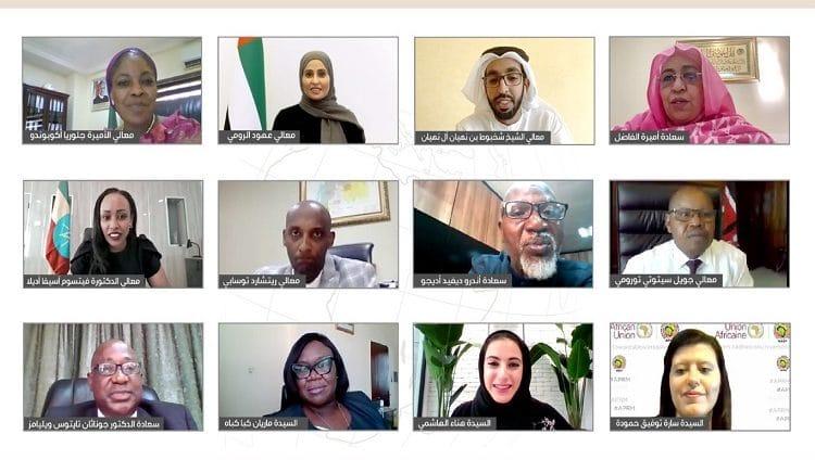 حكومة الإمارات تعزز الشراكات الاستراتيجية التنموية وتبادل الخبرات والتجارب مع دول القارة الأفريقية