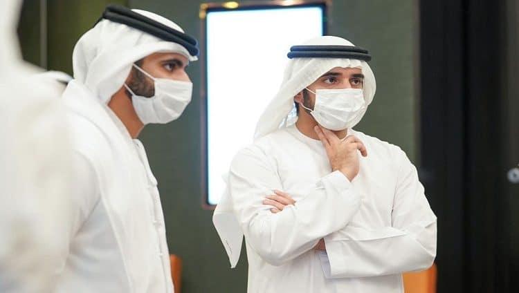 حمدان بن محمد يلتقي أعضاء اللجنة العليا لإدارة الأزمات والكوارث في دبي