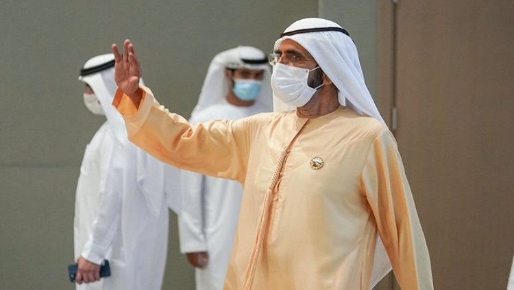 محمد بن راشد يدشن المشروع الأول من المرحلة الخامسة في مجمع محمد بن راشد آل مكتوم للطاقة الشمسية بقدرة 300 ميجاوات