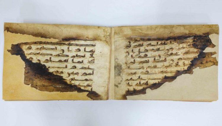 حاكم الشارقة يهدي مجمع القرآن الكريم أربعة مخطوطات لمصاحف نادرة