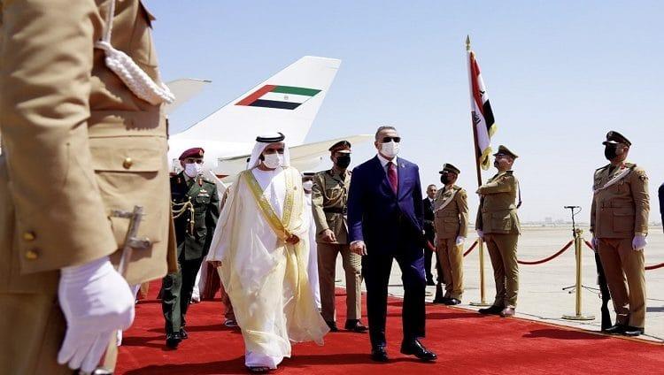 محمد بن راشد: متفائلين بعودة بغداد ونهضتها مجددا