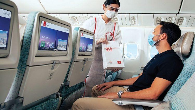 طيران الإمارات توفر خدمة الطلب المسبق لمنتجات السوق الحرة على الطائرة