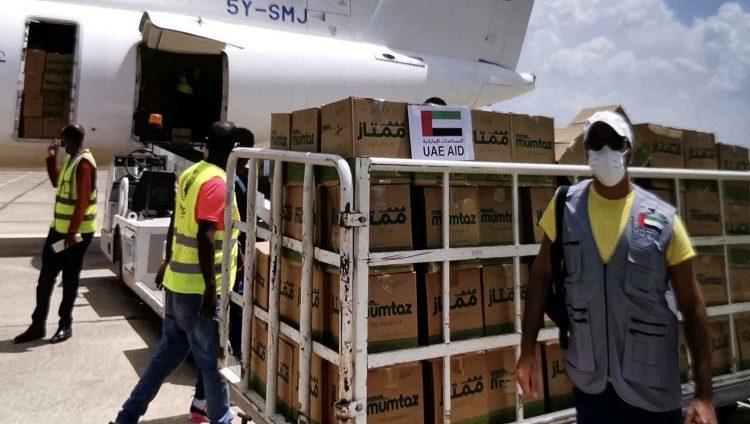 طائرة إغاثة إماراتية إلى إقليم تيغراي الإثيوبي