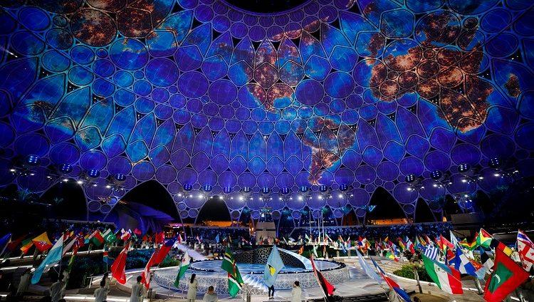 حفل افتتاح إكسبو 2020 دبي ينقل في بثٍ حي في كل أنحاء الإمارات