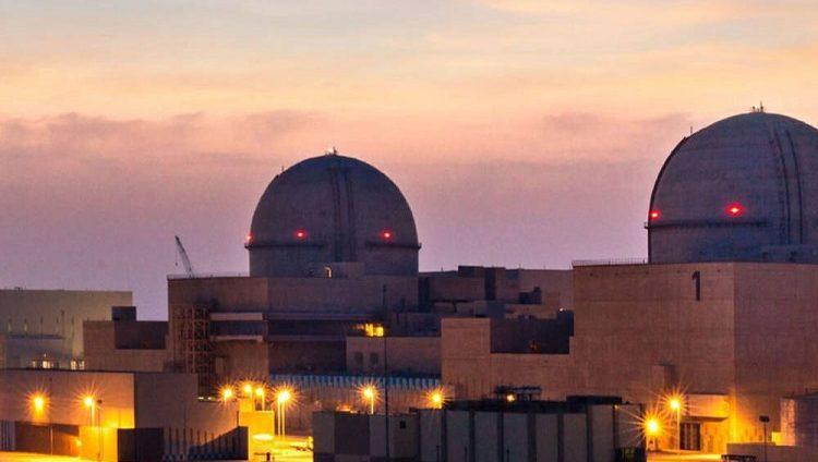 ربط ثانية محطات براكة بشبكة الكهرباء الرئيسية في الدولة