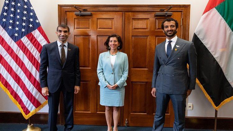 الإمارات والولايات المتحدة تعززان التعاون التجاري وتبحثان خطط تنمية الشراكات الاستثمارية خلال المرحلة المقبلة في مجالات الابتكار والتكنولوجيا