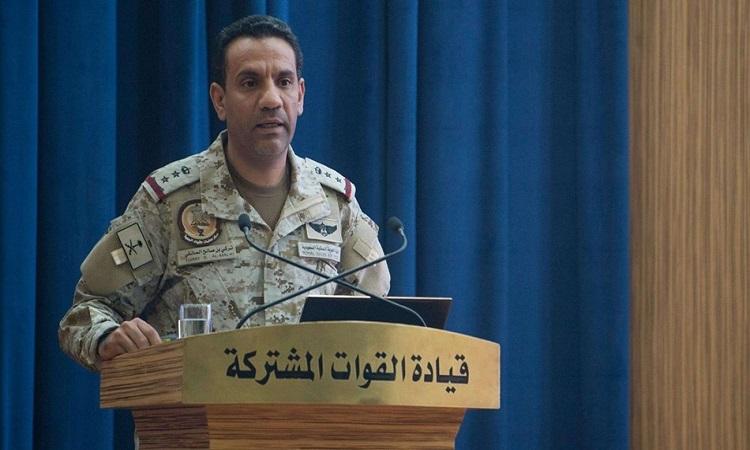 المالكي: التحالف نفذ عملية عسكرية في صنعاء